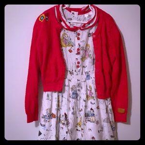 Disney Size: 5/6 Animators Dress & Sweater